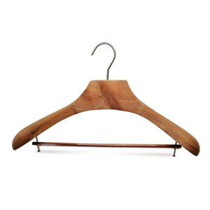 Supply Luxury Cedar Wooden Coat Hanger