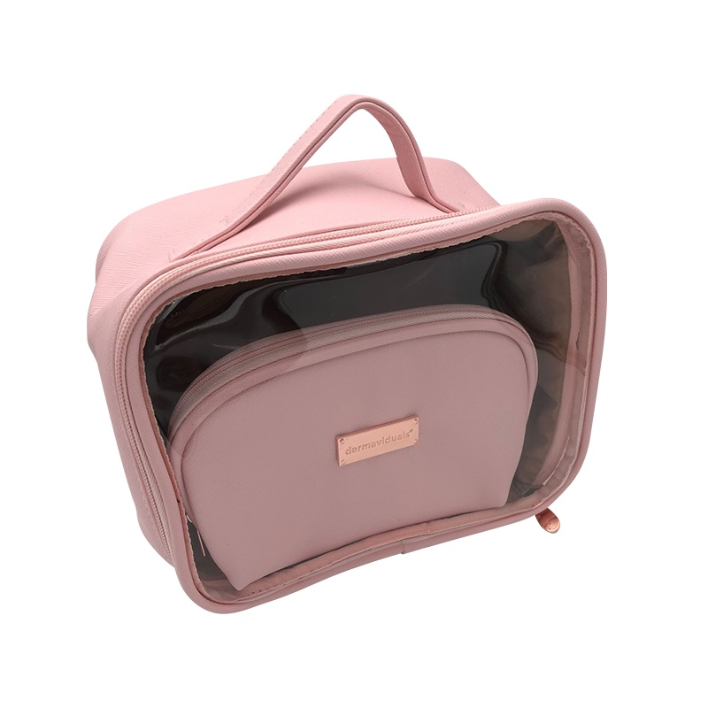 Pink Vanity Case Makeup And Toiletry Pouch Bags Manufacturers, Pink Vanity Case Makeup And Toiletry Pouch Bags Factory, Supply Pink Vanity Case Makeup And Toiletry Pouch Bags