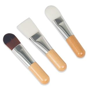 Synthetic Hair Retractable Bamboo Makeup Foundation Brush